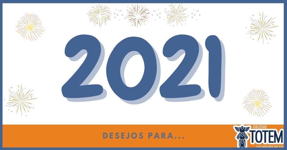 Imagem sobre Desejos para 2021...